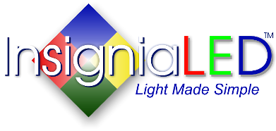 Logo, Insignia LED